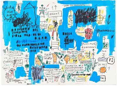 Jean-Michel Basquiat, 'Ascent ', 1983/2017
