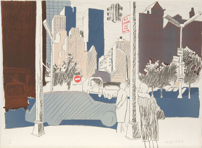 Fairfield Porter, 'Untitled (NYC)', ca. 1970