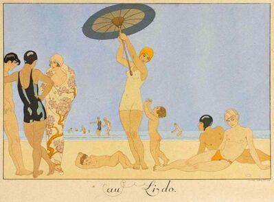 George Barbier, 'Au Lido', 1920