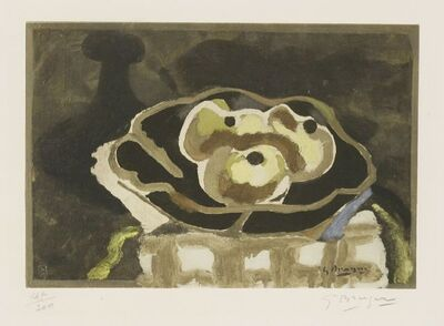 Georges Braque, 'Still Life with Apples (Spitzer P.14)', 1955