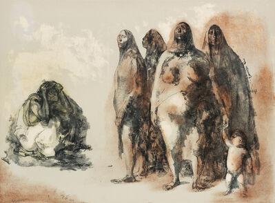 Francisco Zúñiga, 'Mujeres de México.', 1973