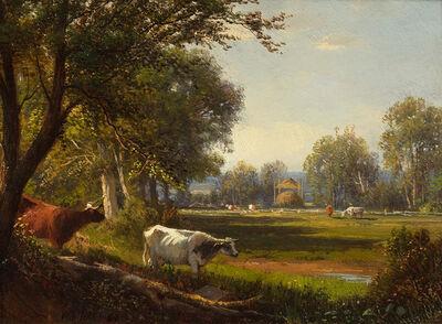 William M. Hart, 'Summer Meadow', 1860