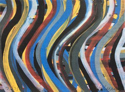 Sol LeWitt, 'Brushstrokes: Horizontal and Vertical, Plate #8', 1996