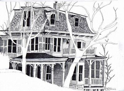Bill Batson, 'Carson McCuller's House', 2013