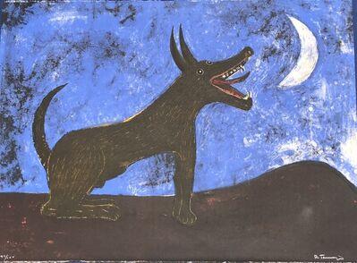 Rufino Tamayo, 'Perro de Luna', 1973