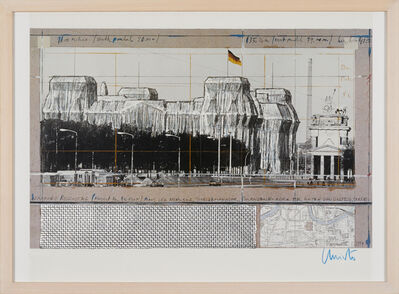 Christo and Jeanne-Claude, 'Wrapped Reichstag', 1984/94