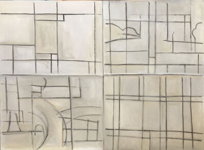 Hearne Pardee, 'Painted Grid', 2019