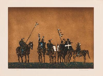 Fritz Scholder, 'Sioux War Party', 1976