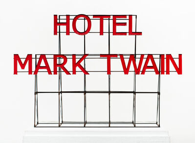 Drew Leshko, 'Hotel Mark Twain Sign', 2019