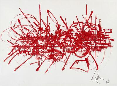Georges Mathieu, 'Mémoire vagabonde', 1994