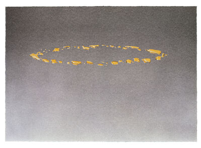 Ed Ruscha, 'Cheese Oval', 1976