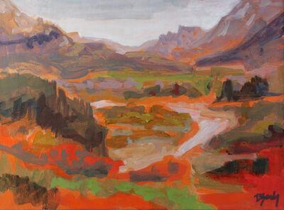 Diana Rae Zasadny, 'Blustery Waterton'