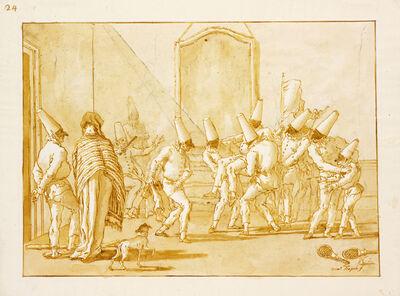 Giovanni Domenico Tiepolo, 'The Badminton Victory,Divertimento per li ragazzi', ca. 1797