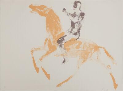 Elisabeth Frink, 'Cas Horse And Rider (W. 49)', 1971