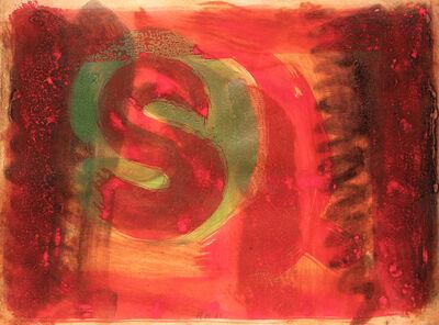 Howard Hodgkin, 'Listening Ear (also called Red Listening Ear)', 1986