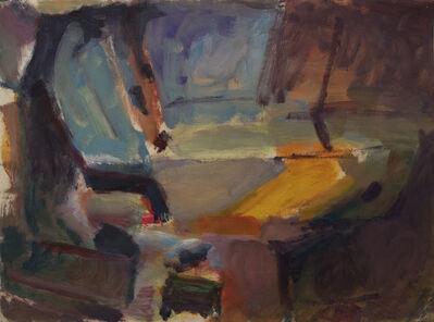 Sargy Mann, 'Lying nude, sun on wall', 1967