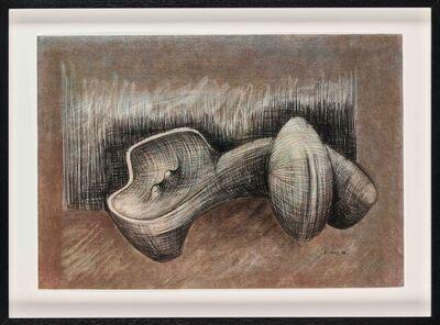 Sydney Kumalo, 'Studies for Sculpture: Reclining Female Form', 1982