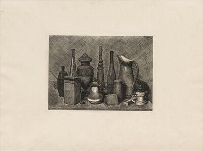 Giorgio Morandi, 'Grande natura morta con la lampada a destra, 1928 (Vitali 46)', 1928