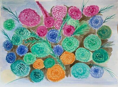 Guiomar Giraldo-Baron, 'Flowers', 2020