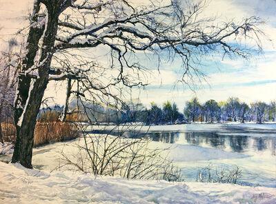 Joy Makon, 'Spring Snow', 2019