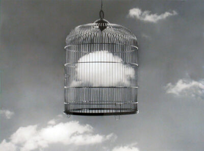 "Chema Madoz, '""S/T"", (Birdcage/Clouds)', 2003"