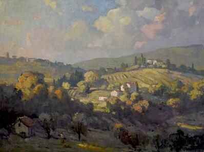 John C. Traynor, 'Grassy Hills of Tuscany', 2020