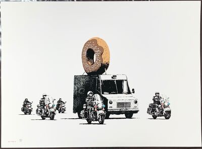 Banksy, 'Donuts (Chocolate)', 2009