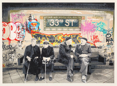 Mr. Brainwash, '33rd St.', 2009