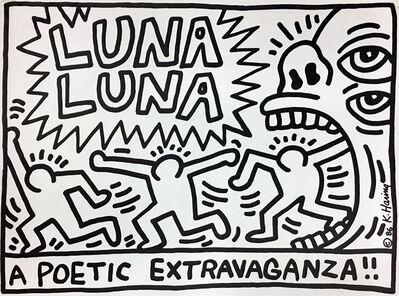 Keith Haring, 'Luna Luna A Poetic Extravaganza!', 1986