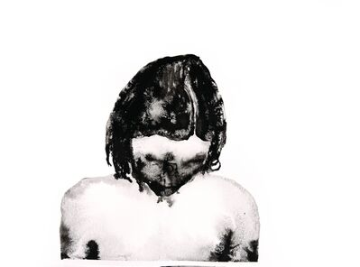Anna Nemes, 'Black Bad  Face / Fekete rosszarc', 2017