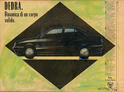 Mimmo Rotella, 'Dedra', 1990