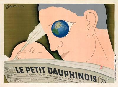 Leonetto Cappiello, 'Le Petit Dauphinois - Newspaper', 1933