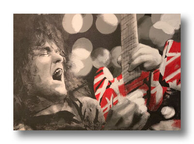 Mel Balatbat, 'Eddie Van Halen', 2020