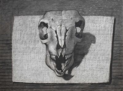 Youssef Abdelke, 'The Skull', 2004