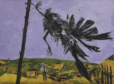 Bryan Kneale, 'Rook in the Wind', 1954