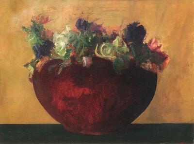 Haidee Becker, 'Pot of Anemones', 1986