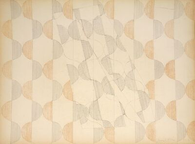 Perle Fine, 'Untitled (Drawing #3)', 1971-72