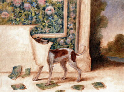 Sam Branton, 'Hound with Tapestry', 2020