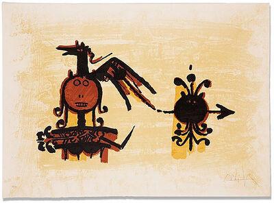 Wifredo Lam, 'El Último Viaje Del Buque Fantasma 4', 1976
