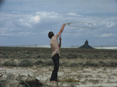 Paul Kos, 'Roping Boar's Tusk', 1971