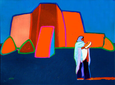 John Nieto, 'Drum Talk Ranchos de Taos Church', 2004