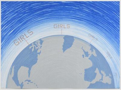 Ed Ruscha, 'Girls, from the World Series', 1982