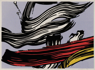 Roy Lichtenstein, 'Brushstroke', 1967
