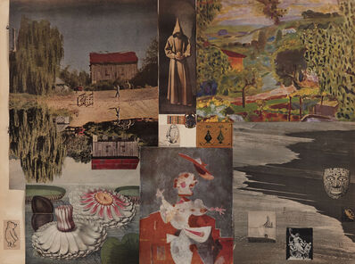 Jess, 'Untitled (Pooh Figure)', 1953