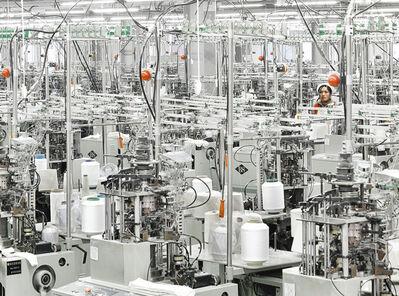 Stephen Wilkes, 'Lanswe Sock Factory, China'