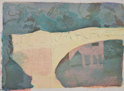 Kathy Pieper, 'Watercolor of Bridge in Boat Pond', 2016