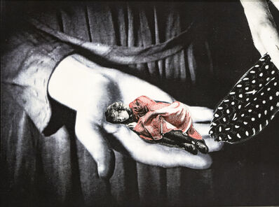 Stacey Steers, 'Night Hunter (woman stroked by feather)'