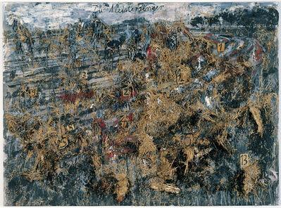 Anselm Kiefer, 'Die Meistersinger (The Mastersingers)', 1982