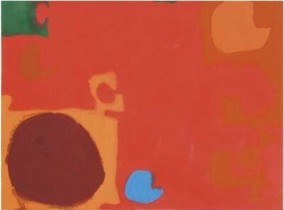 Patrick Heron, 'Yellows and Browns Interlocking with Soft Cadmium', 1968