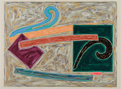 Frank Stella, 'Inaccessible Island Rail, from Exotic Bird Series', 1977